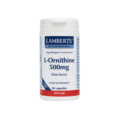 L Ornithine mg