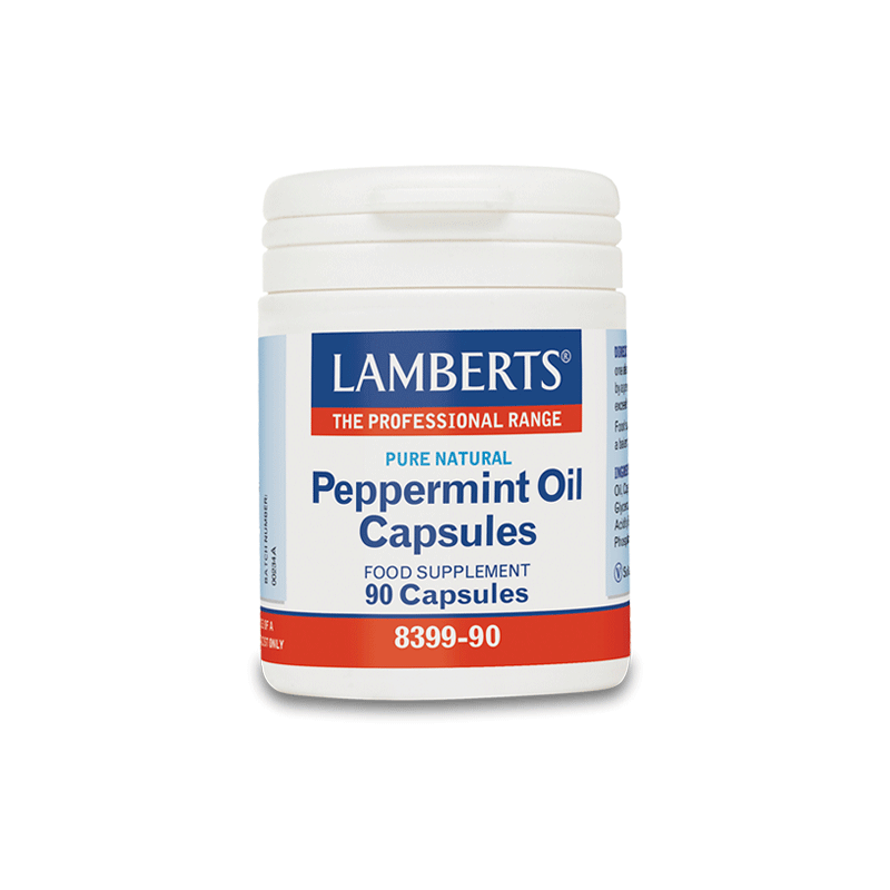 how to take peppermint oil capsules